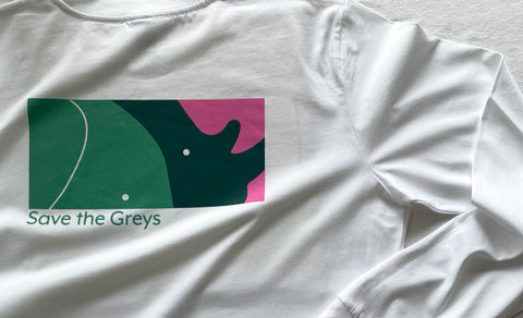 Wrinkle x Trunks Save the Greys Charity T-shirt