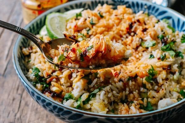 Dungeness Crab Fried Rice Recipe