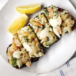 Crab Toast With Lemon Aioli Recipe