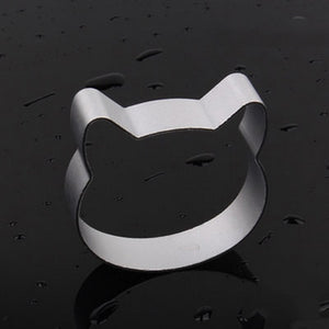 Open image in slideshow, Cookie Cutters Moulds Aluminum Alloy Cute Animal Shape Biscuit Mold Kitchen Tools