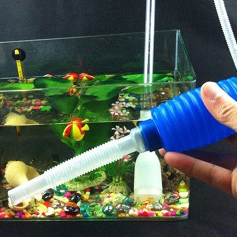 Fish tank water changer Manual fish tank cleaning pipes
