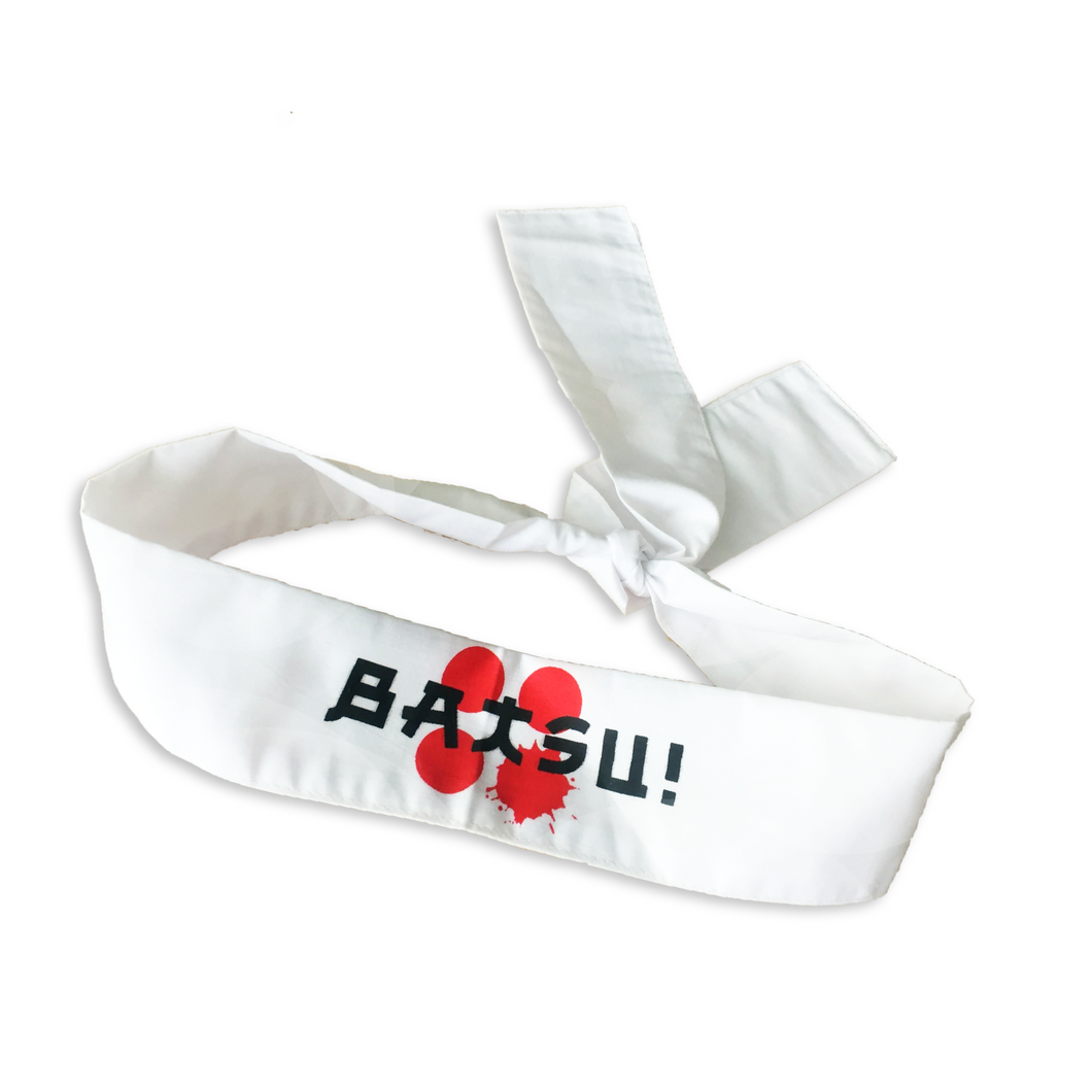 BATSU! Hachimaki Headband (Free shots at the show!)