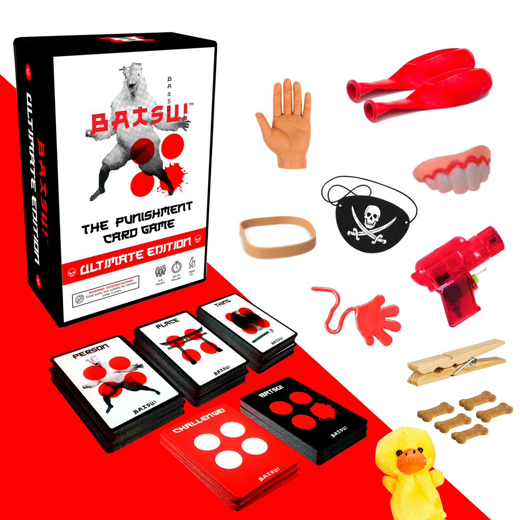 BATSU! The Punishment Card Game (Ultimate Edition)