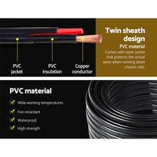 Load image into Gallery viewer, Twin Core Wire Electrical Automotive Cable 2 Sheath 450V3MM 30M
