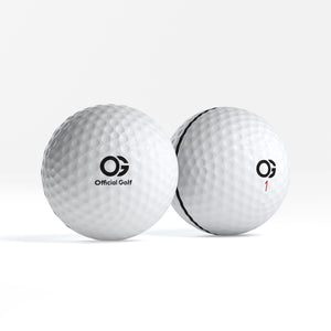 The OG -  Premium 3 Piece Urethane Golf Ball - Dozen (Box Of 12)