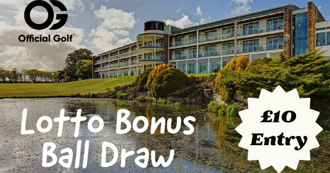 Lotto Bonus Ball - WIN your spot in our OG Golf Weekend - 18th - 20th June 2021 - DRAW  3rd April 2021