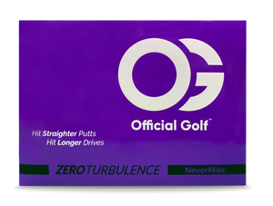 "The ZT ""Zero Turbulence"" 4 Piece Golf Ball - Dozen"