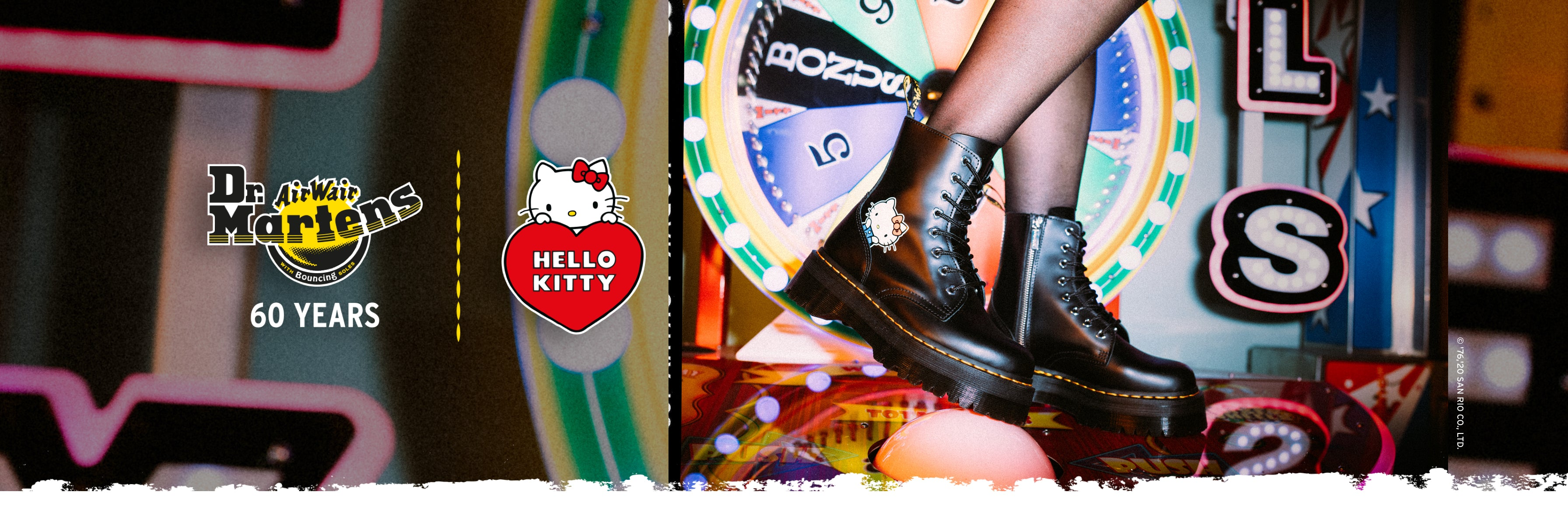 DR MARTENS X HELLO KITTY