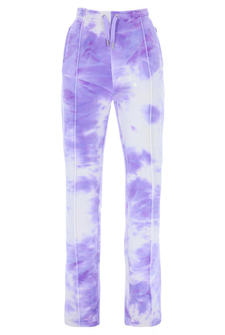 PRINTED TINA TRACK PANTS AOP PURPLE SEA