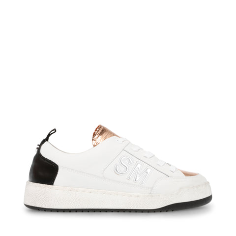 GIMMIE ACTION LEATHER/COW SUEDE WHITE MULT
