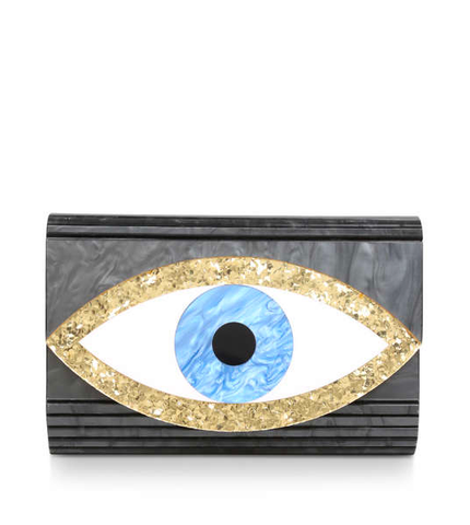 EYE PARTY ENVELOPE NERO