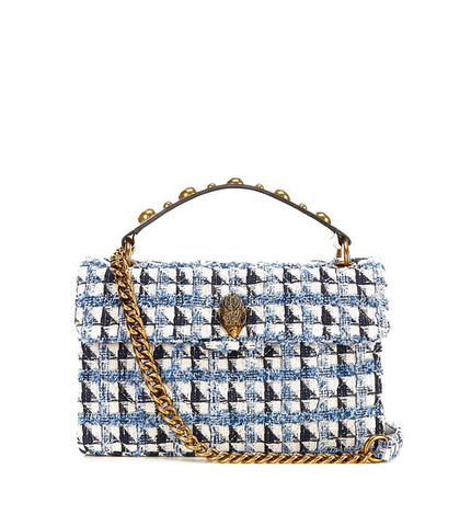 KENSINGTON TWEED BIANCO BLU