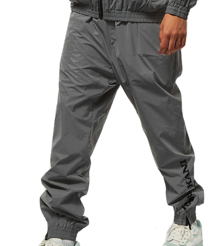RETRO REFLECTIVE TRACKPANTS ARGENTO