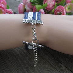 Anchor Eight Multilayer Colored Bracelet - Oh Yours Fashion - 2