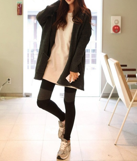 Loose Hooded Cardigan Solid Color Pocket Sweater - Oh Yours Fashion - 1