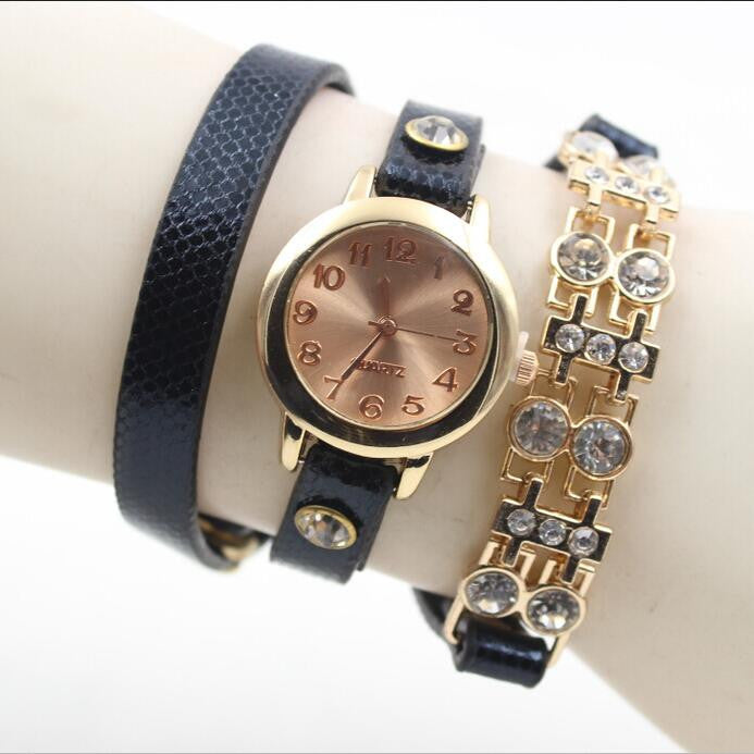 Personality Crystal Patchwork Watch - Oh Yours Fashion - 4