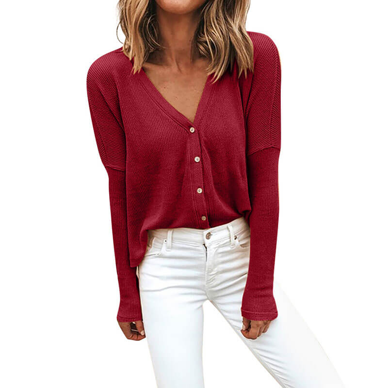 Loose Cozy Cardigan Women Sweater