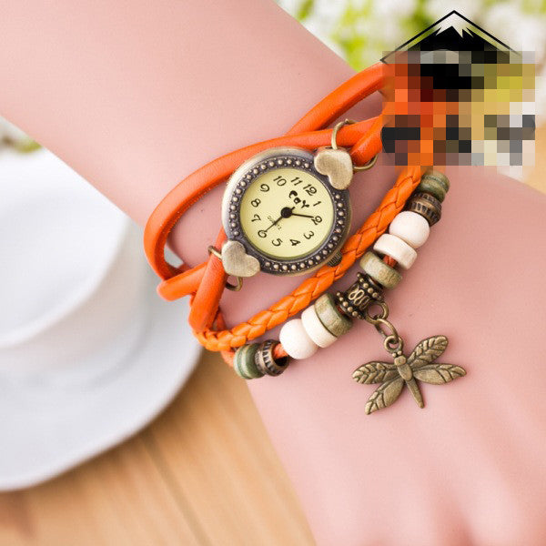 Dragonfly Decorate Multilayer Watch - Oh Yours Fashion - 8