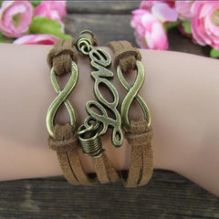 Fashion Brown Love Multilayer Bracelet - Oh Yours Fashion - 1