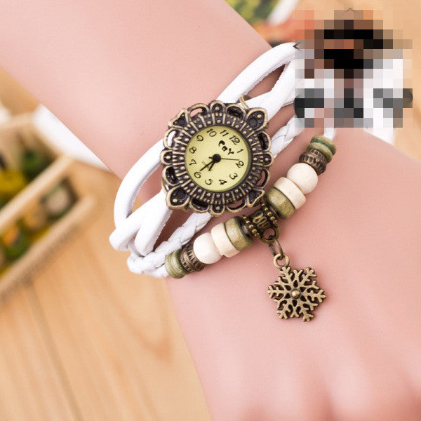 Fashion Snowflake Multilayer Watch - Oh Yours Fashion - 4
