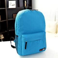 Pure Color Korean Style Flexo Backpack - Oh Yours Fashion - 14