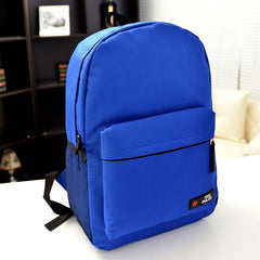 Pure Color Korean Style Flexo Backpack - Oh Yours Fashion - 11