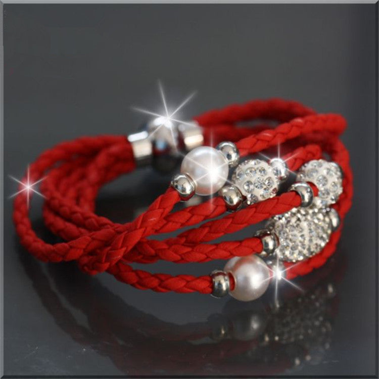 Shambhala Multilayer Fashion Bracelet - Oh Yours Fashion - 1