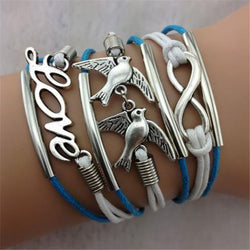 Hot Sale Love Dove Hand Woven Bracelet - Oh Yours Fashion