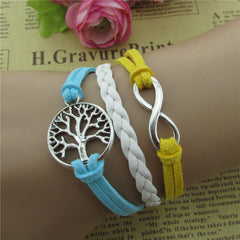 Tree Of Life Multicolor Woven Bracelet - Oh Yours Fashion - 2