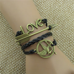 Arrow Hungry Bird Multilayer Bracelet - Oh Yours Fashion - 1