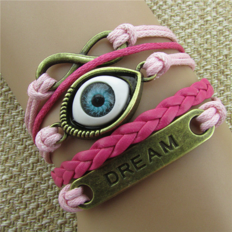 Turkey's Eyes Dream Multilayer Bracelet - Oh Yours Fashion - 1
