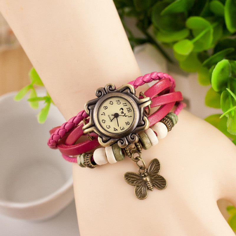 Retro Style Butterfly Bracelet Watch - Oh Yours Fashion - 2