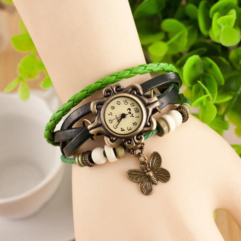 Retro Style Butterfly Bracelet Watch - Oh Yours Fashion - 3