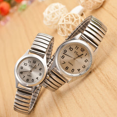Classic Couple Elastic Strap Watch - Oh Yours Fashion - 2