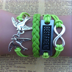 BESTFRIEND Dove Fashion Woven Bracelet - Oh Yours Fashion - 2