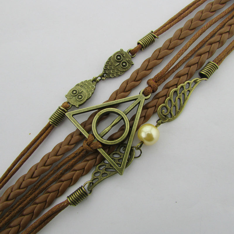Harry Potter Dove Owl Fashion Bracelets - Oh Yours Fashion - 3