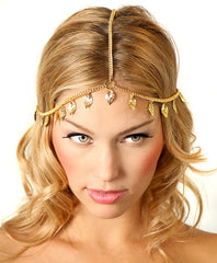 Beautiful Leaves Tassel Chain Hair Accessories - Oh Yours Fashion - 2