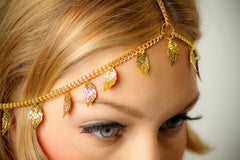 Beautiful Leaves Tassel Chain Hair Accessories - Oh Yours Fashion - 3