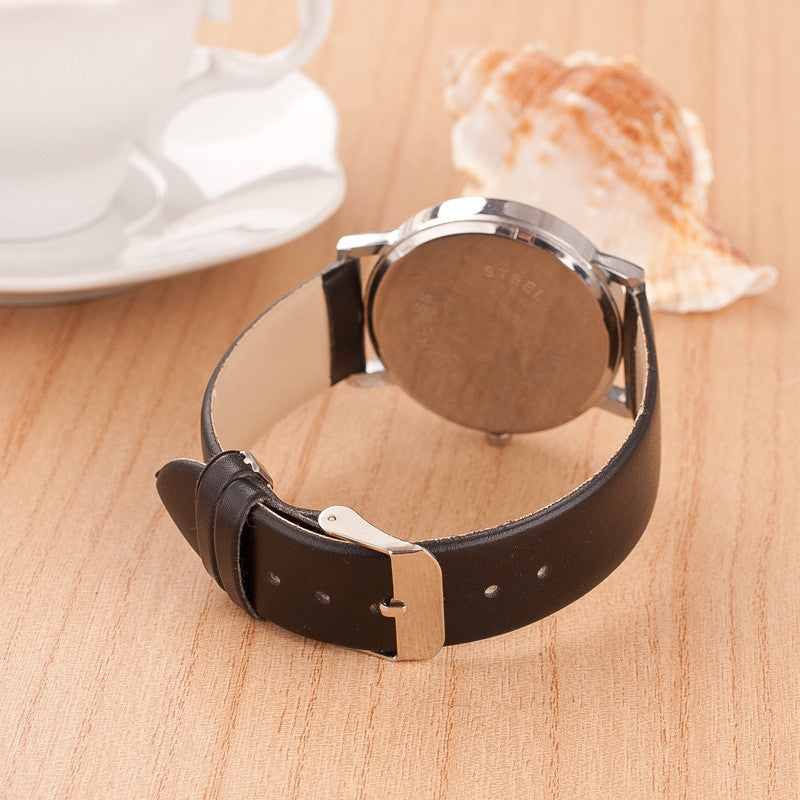 Roman Number Couple Leather Watch - Oh Yours Fashion - 8