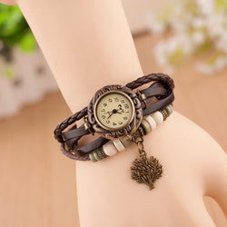 Retro Blessing Tree Multilayer Watch - Oh Yours Fashion - 1