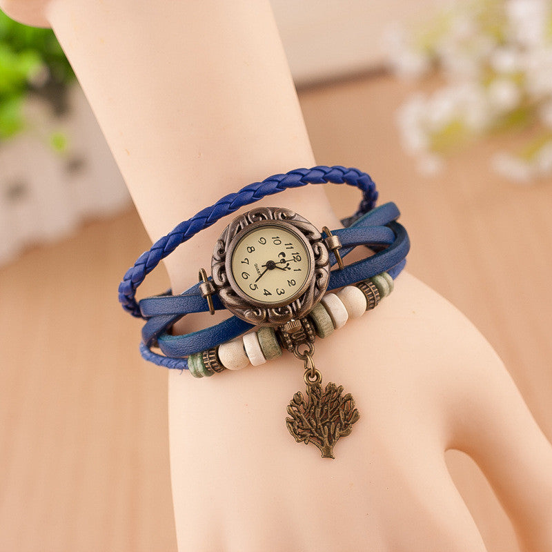 Retro Blessing Tree Multilayer Watch - Oh Yours Fashion - 2