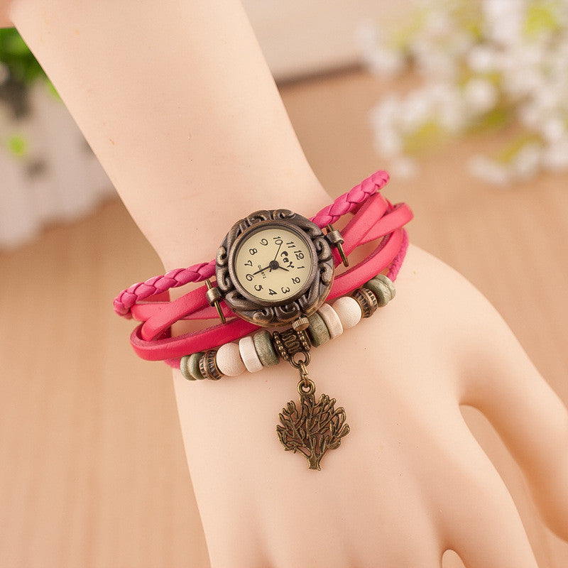Retro Blessing Tree Multilayer Watch - Oh Yours Fashion - 3
