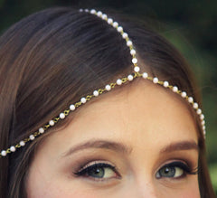 Beautiful Handmade Pearl Beaded Hair Accessories - Oh Yours Fashion - 2