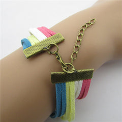 Joker LOVE Anchor Multi-layer Bracelet - Oh Yours Fashion - 2