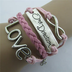 Romantic LOVE Leather Cord Bracelet - Oh Yours Fashion - 2