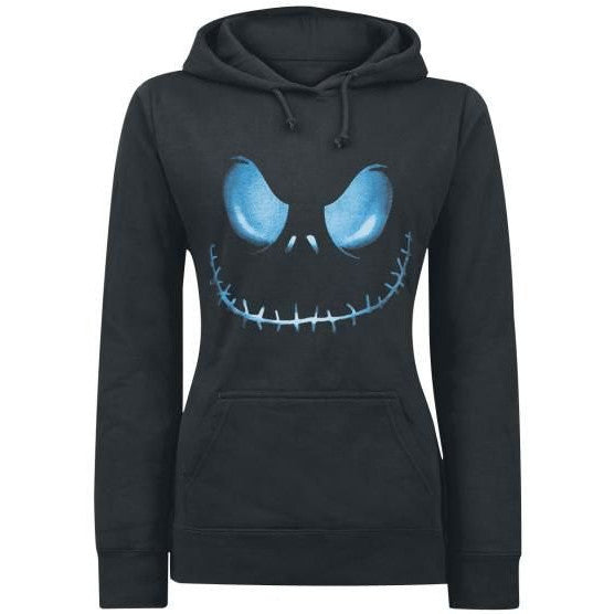 Skull Printed Pullover Black Sport Hooide - O Yours Fashion - 1