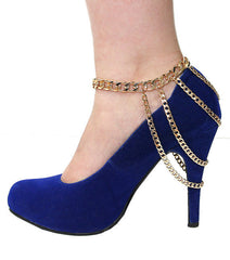 Punk Style Metal Chain Anklet - Oh Yours Fashion - 3