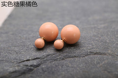 Candy Color Big Little Pearl Earring - Oh Yours Fashion - 8