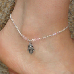 Bead Hand Tassel Anklet - Oh Yours Fashion - 3