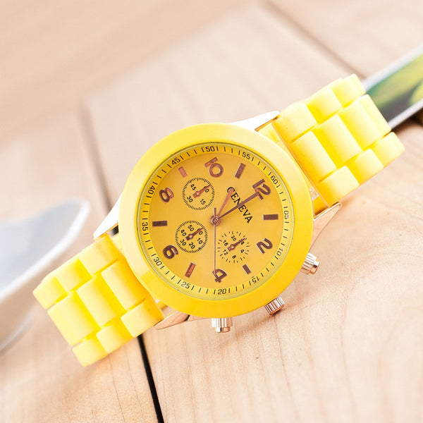 Fashion Colorful Jelly Students Leisure Watch - Oh Yours Fashion - 2